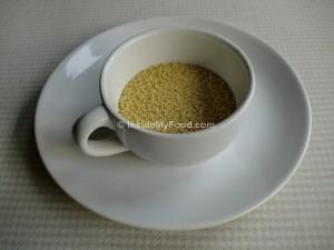 Raciones - Farináceos - Harinas y pastas - Sémola de trigo