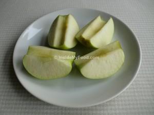 Raciones - Frutas - Otras frutas - Manzana