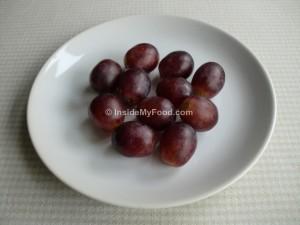 Raciones - Frutas - Otras frutas - Uvas