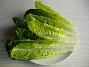 Raciones - Verduras y hortalizas - Frescas - Lechuga