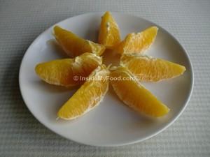 Raciones - Frutas - Cítricos - Naranja