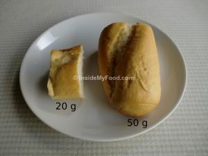 Raciones - Farináceos - Pan - Barra de pan