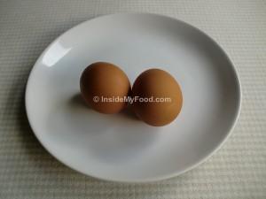 Raciones - Huevos - Huevo de gallina