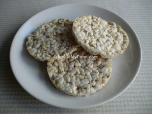 Raciones - Farináceos - Galletas, bollería y otros - Tortitas de arroz inflado