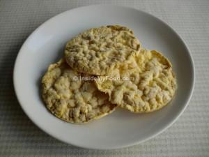 Raciones - Farináceos - Galletas, bollería y otros - Tortitas de maíz inflado