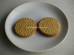 Raciones - Farináceos - Dulces - Galletas con crema de cacao