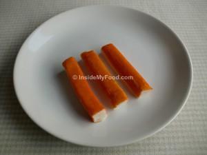 Raciones - Pescados y mariscos - Conservas y derivados - Palitos de cangrejo (surimi)