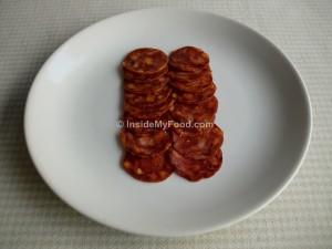 Raciones - Carnes y derivados - Embutidos - Chorizo