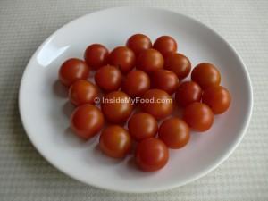 Raciones - Verduras y hortalizas - Frescas - Tomates cherry