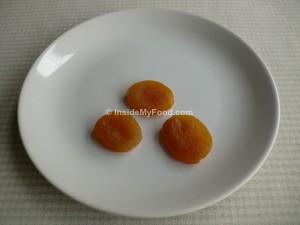 Raciones - Frutos secos - Orejones