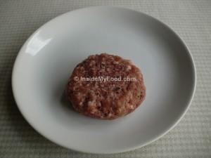 Raciones - Carnes y derivados - Carnes rojas - Hamburguesa