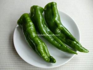 Raciones - Verduras y hortalizas - Frescas - Pimiento verde