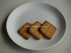 Raciones - Farináceos - Dulces - Galletas de matequilla
