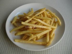 Raciones - Comida rápida - Patatas fritas