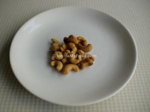 Raciones - Frutos secos - Anacardos