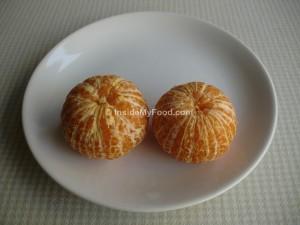 Raciones - Frutas - Cítricos - Mandarina