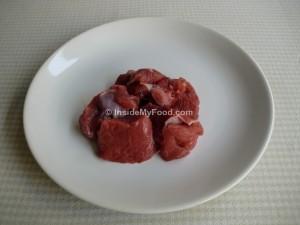 Raciones - Carnes y derivados - Carnes rojas - Magro de ternera