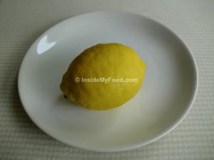 Raciones - Frutas - Cítricos - Limón