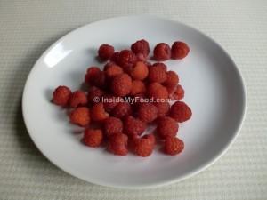 Raciones - Frutas - Otras frutas - Frambuesas