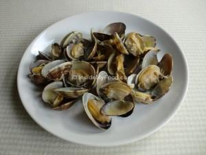 Raciones - Pescados y mariscos - Marisco - Almejas frescas