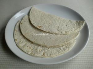 Raciones - Farináceos - Panes y derivados - Tortilla de harina