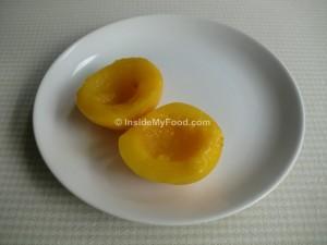 Raciones - Frutas - Frutas en conserva - Melocotón en almíbar