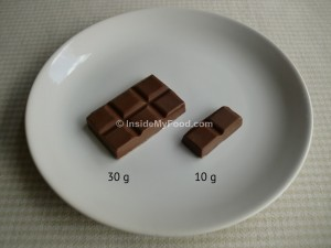 Raciones - Dulces - Chocolate