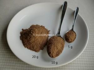 Raciones - Dulces - Cacao soluble