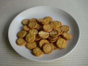Raciones - Farináceos - Panes y derivados - Galletas saladas