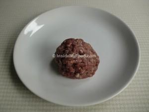 Raciones - Carnes y derivados - Carne roja - Carne picada