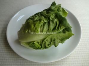 Raciones - Verduras y hortalizas - Cogollo de lechuga