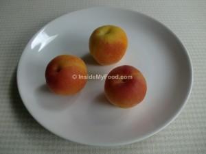 Raciones - Frutas - Albaricoques