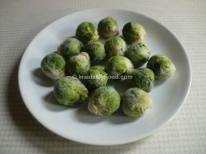 Raciones - Verduras y hortalizas - Verduras y hortalizas en conserva o congeladas - Coles de Bruselas