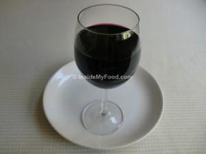 Raciones - Bebidas alcohólicas - Vino