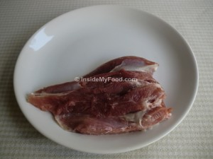 Raciones - Carnes y derivados - Carne blanca - Muslo de pavo